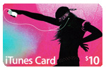 iTunes $10 Gift Card (USA Card)