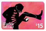 iTunes $15 Gift Card (USA Card)