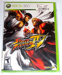 Street Fighter IV (Xbox 360) NEW