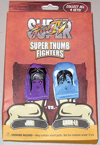 Super Street Fighter IV Super Thumb Fighters: Juri & Chun-Li