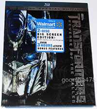 Transformers: Revenge of the Fallen: Big Screen Edition (Blu-Ray)